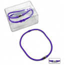 Choker, Active,  color violet - circumference appro