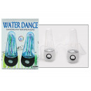 Stereo speakers  with dancing water fountain