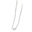 Alpacca Collier Silver 42 cm