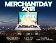 merchantday für Online- und Marktplatz-Händler - 20 % Rabatt