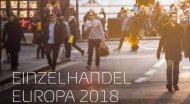 Stationärer Einzelhandel in Europa wächst in 2018 um 2,1 Prozent