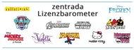 zentrada-Lizenzbarometer November 2016: Dauerbrenner Frozen wieder zurück auf Platz 1
