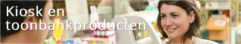 Kiosk en toonbankproducten groothandel