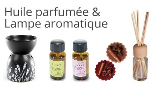 Huile parfumée & Lampe aromatique
