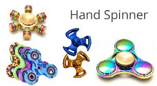 Hand-Spinner & Fidget-Spinner