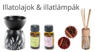 Illatolajok & illatlámpák