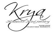 Krya stainless steel jewelry