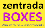 Firmenlogo zentrada.BOXES by zentrada.distribution