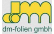 Firmenlogo dm-folien GmbH