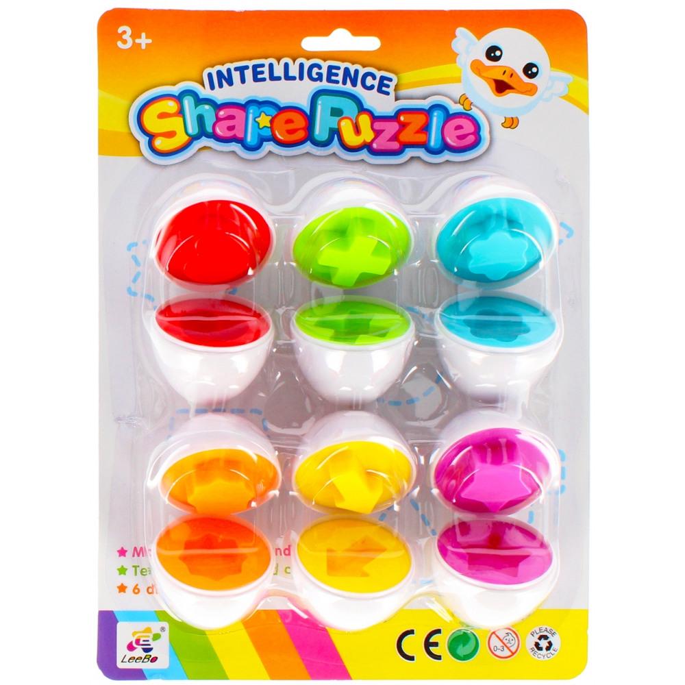 Puzzle oeuf jouet éducatif lb2011 1a blister du grossiste ...