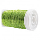 Wire premium spool 0.3mm 100g apple green