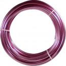 Alu wire 1mm rose 60m
