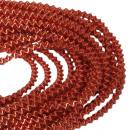 Wire bouillon wire bag medium 100g orange