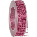 wholesale Decoration: Band Alma wire old pink 25mm20m