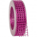 wholesale Decoration: Band Alma wire shocking pink 25mm20m
