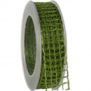 wholesale Decoration: Band Alma wire green 25mm20m