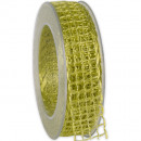 wholesale Decoration: Band Alma wire lime 25mm20m