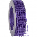 wholesale Decoration: Band Alma wire lilac 25mm20m