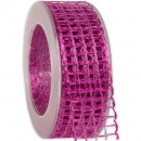 wholesale Decoration: Band Alma wire shocking pink 40mm20m