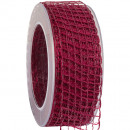 wholesale Decoration: Band Alma wire cardinal 40mm20m