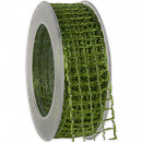 wholesale Decoration: Band Alma wire green 40mm20m