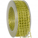 wholesale Decoration: Band Alma wire lime 40mm20m