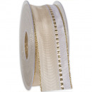 wholesale Decoration: Band Grand Palace wire cream 40mm20m