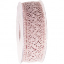 wholesale Gifts & Stationery:Lace medium pink 38mm15m