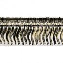 wholesale Decoration:Cross fringe 50mm 25m