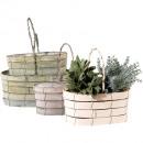 grossiste Plantes et pots: Cintre Woody S2, 26,30cm gris minable