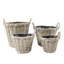 Rattan basket round S4 40cm