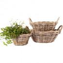 wholesale Garden Furniture:Rattan bowl Ø43 H18cm