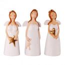 Angel ceramic white 13.5cm