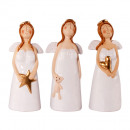 wholesale Flowerpots & Vases:Angel ceramic white 17cm