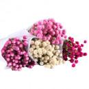 Ball amaranth white 60cm 100g