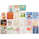 Remaining stock -40% Congratulations Cards