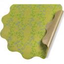 Rondella Ø40cm FSC PE paper Vero green