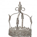 Crown tray gray height 31cm
