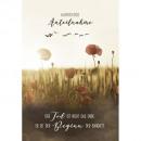 nagyker Üdvözlőkártyák:Jegy, gyász 12x18cm