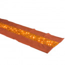 wholesale Light Garlands: Organza table runner fairy lights copper