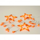 wholesale Light Garlands: Fairy lights star L460cm caramel