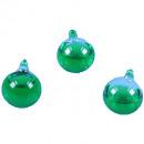 nagyker Hógömbök:Üveg vízgömb zöld D 3cm