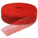 wholesale Decoration:Jute red 5cm 40m