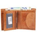 Leonardo Verrelli Herren Geldbörse aus Echtleder,