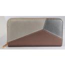 Damen Geldbörse aus Lederimitat, Farbe: 1