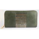 Damen Geldbörse aus Lederimitat, Farbe: 3