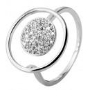 925 Silber Ring, 925/rhodiniert, 2,4g, Ringgröße: