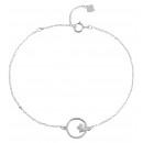 Großhandel Schmuck & Uhren: 925 Silber Armband,17+3cm, 925/rhodiniert, ...