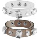 Modeschmuck Armband, transparent, VE6