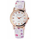 Donna Kelly orologio con bracciale in similpelle